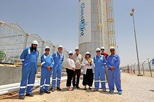 u.s. ambassador to oman visits pdos flagship solar eor project 1