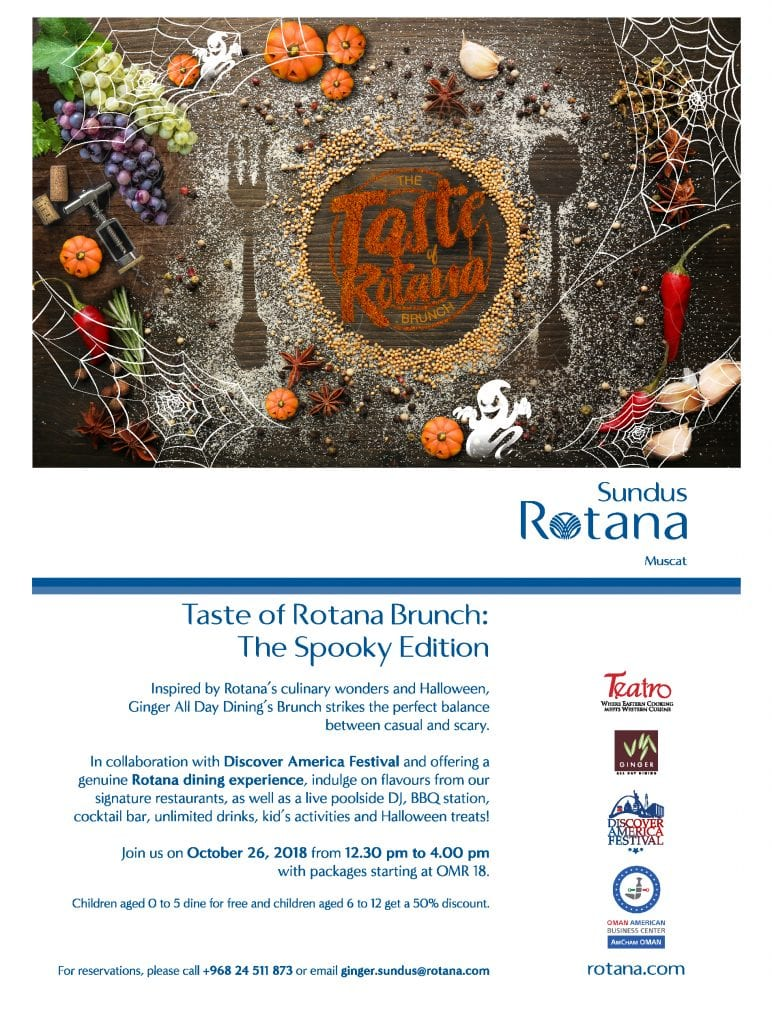 Taste of Rotana Spooky Brunch
