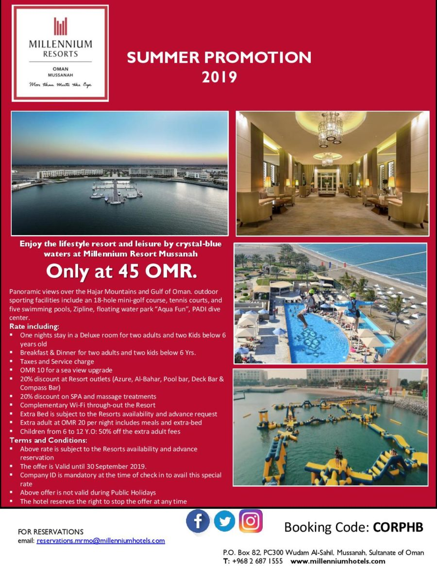 Member Benefit Program - Oman American Business Center (OABC)